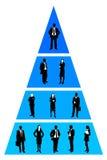 Структура компании иллюстрация вектора
