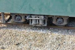 Структура колеса экипажа поезда Стоковое Изображение RF