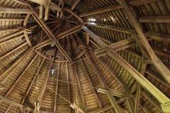 структура крыши крепости Стоковое Изображение