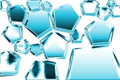 структура льда Стоковые Фотографии RF
