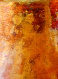 Структура медного цвета помеец предпосылки коричневый Стоковая Фотография