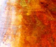 Структура медного цвета помеец предпосылки коричневый Стоковые Фото