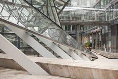структура металла дела здания стеклянная Стоковое Изображение RF