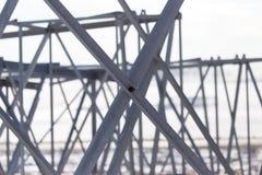 Структура металла как предпосылка Стоковая Фотография