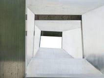 Структура металла абстрактная на белизне Стоковая Фотография