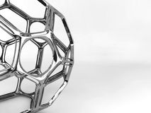 Структура металла абстрактная Стоковая Фотография RF