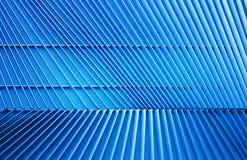 Структура металла в голубом свете Стоковое Фото