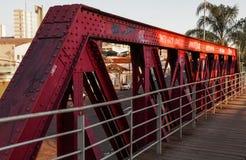 Структура металла детали левой стороны моста Стоковое Фото