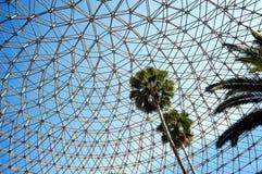 Структура металла над деревьями Стоковые Изображения RF