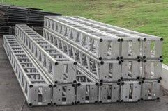 Структура металла подготовленная для того чтобы поставить собрание Стоковые Фото