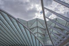 Структура металла Gare делает Oriente Стоковые Изображения