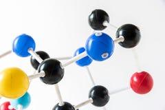 Структура молекулы науки, концепция науки Стоковое Изображение RF