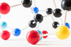Структура молекулы науки, концепция науки Стоковая Фотография RF