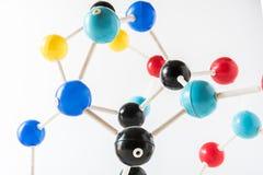 Структура молекулы науки, концепция науки Стоковые Фотографии RF