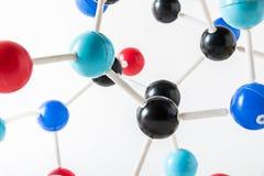 Структура молекулы науки, концепция науки Стоковое Фото
