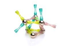 структура молекулы Стоковые Изображения RF