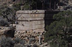 Структура на дороге пропуска Baxter стоковые изображения rf