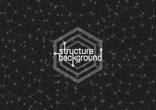 Структура на серой предпосылке также вектор иллюстрации притяжки corel Стоковые Изображения RF