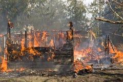 структура пожара селитебная Стоковое фото RF