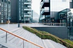Структура современной архитектуры городская стоковое изображение