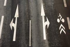 структура штата квадрата дороги образования асфальта детальная Стоковая Фотография