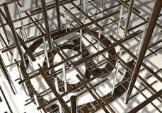 структура электронной почты Стоковое Изображение