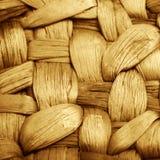 Структура bamboo корзины Стоковые Фото