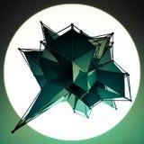 Структура 3d представляет компьютерную графику CG Кристаллическая иллюстрация Одно от комплекта Больше в моем портфолио Стоковое Фото