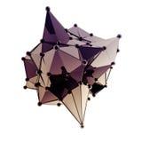 Структура 3d представляет компьютерную графику CG Кристаллическая иллюстрация Одно от комплекта Больше в моем портфолио Стоковые Фото