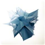 Структура 3d представляет компьютерную графику CG Кристаллическая иллюстрация Одно от комплекта Больше в моем портфолио Стоковое Изображение