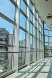Структура Windows решетки с внешним взглядом Стоковые Изображения RF