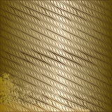 Структурная золотая предпосылка иллюстрация штока