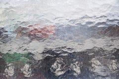 Структурная стеклянная форточка для предпосылок стоковое изображение rf