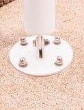 Структурные детали - базовая платина тени солнца Стоковая Фотография RF