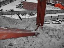 Структуры здания металла части Стоковые Фотографии RF