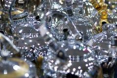 Стручки золото и серебр кофе стиля сияющих баков чая аравийские Стоковое Изображение