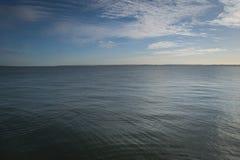 Струят небо и, который струят вода Стоковые Фото