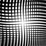 Струят решетка, сетка - пересекать выравнивает текстуру, абстрактное monoch иллюстрация штока