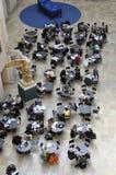 Студенты в aula федерального INstitut технологии ETH стоковое изображение