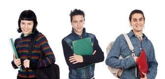 студенты группы молодые стоковое фото rf