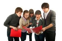 студенты группы Стоковая Фотография