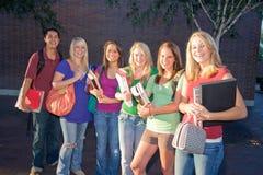 студенты группы Стоковое Изображение RF