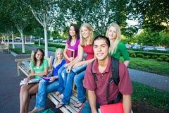 студенты группы Стоковое Изображение
