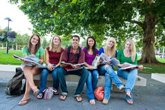 студенты группы Стоковые Фото