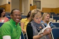 студенты класса многокультурные Стоковое фото RF
