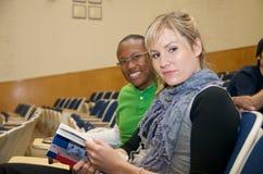 студенты класса многокультурные Стоковая Фотография RF