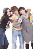 студенты подростковые Стоковое Изображение