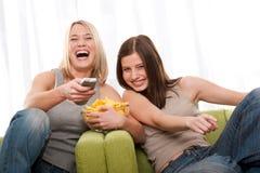 студенты подростковые 2 серии девушок Стоковое Изображение RF