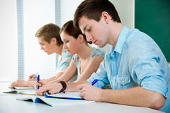 студенты средней школы Стоковое Изображение RF