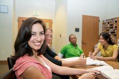 студенты студента салона многокультурные Стоковая Фотография RF